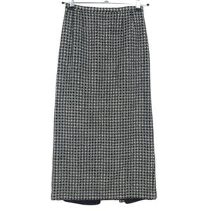 3 for $20- Vintage Talbots Long Wool Check Skirt